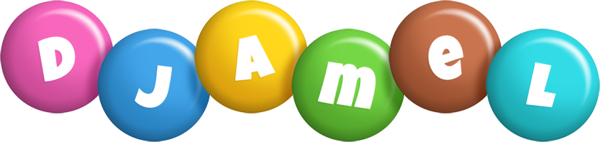 Djamel candy logo