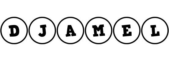 Djamel handy logo
