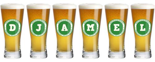 Djamel lager logo