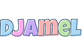 Djamel pastel logo