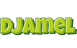 Djamel summer logo