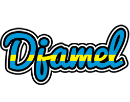 Djamel sweden logo