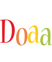 Doaa birthday logo