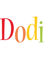 Dodi birthday logo