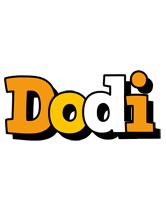 Dodi cartoon logo