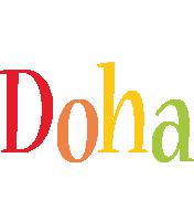Doha birthday logo