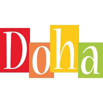 Doha colors logo