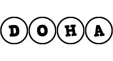 Doha handy logo