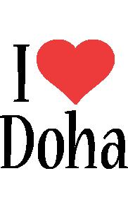 Doha i-love logo