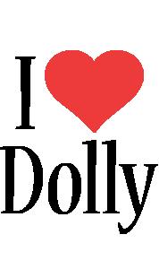 Dolly i-love logo