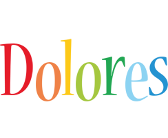 Dolores birthday logo