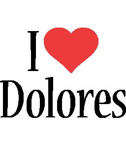 Dolores i-love logo