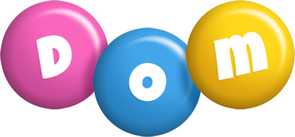 Dom candy logo
