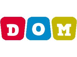 Dom daycare logo