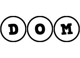 Dom handy logo
