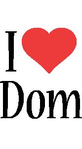 Dom i-love logo
