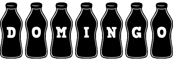 Domingo bottle logo