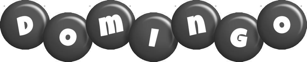 Domingo candy-black logo