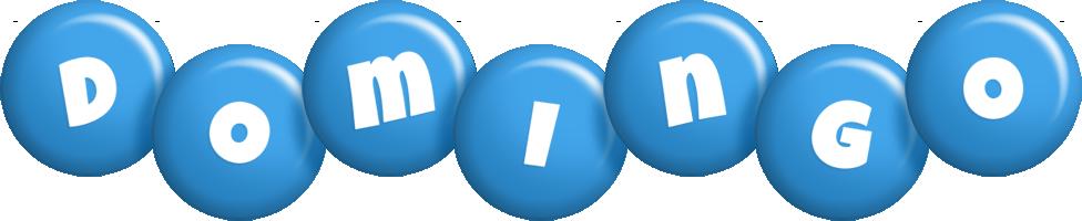 Domingo candy-blue logo