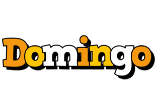 Domingo cartoon logo
