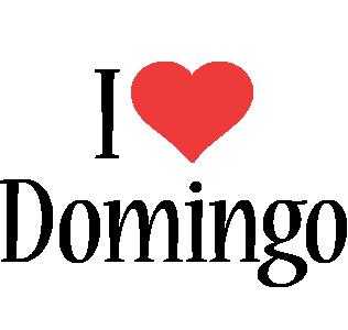 Domingo i-love logo