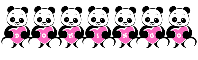 Domingo love-panda logo