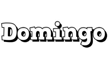Domingo snowing logo