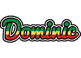 Dominic african logo