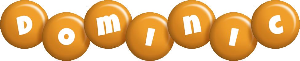 Dominic candy-orange logo
