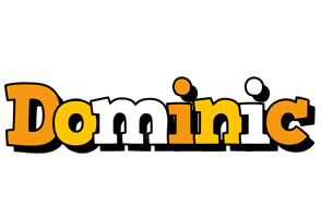Dominic cartoon logo