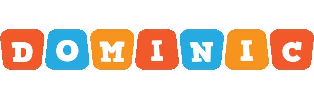 Dominic comics logo
