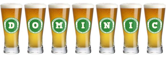 Dominic lager logo