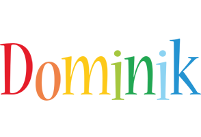 Dominik birthday logo