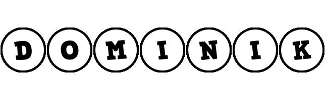 Dominik handy logo