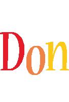 Don birthday logo