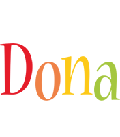 Dona birthday logo