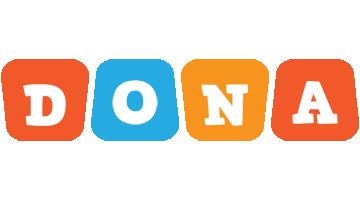 Dona comics logo