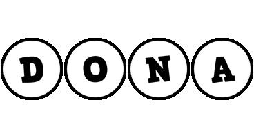 Dona handy logo