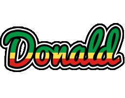 Donald african logo