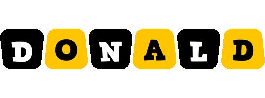 Donald boots logo