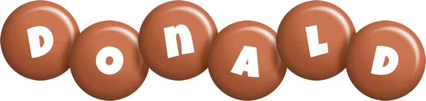 Donald candy-brown logo