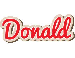 Donald chocolate logo
