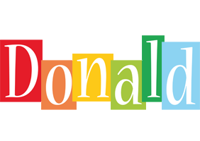 Donald colors logo