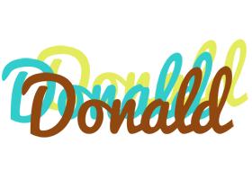 Donald cupcake logo