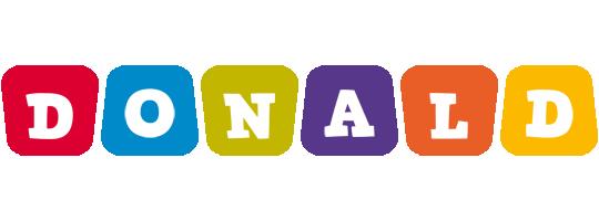 Donald daycare logo