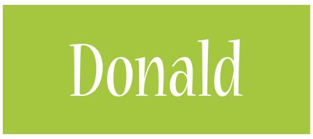 Donald family logo