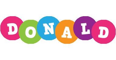 Donald friends logo