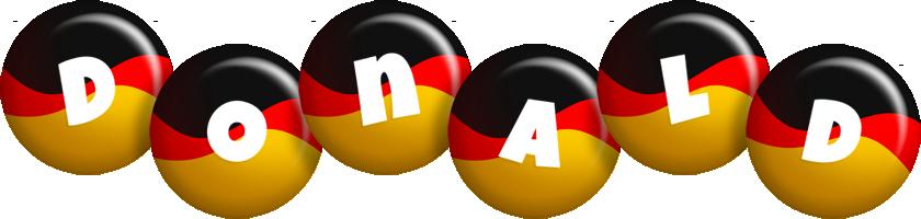 Donald german logo