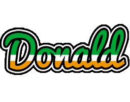 Donald ireland logo