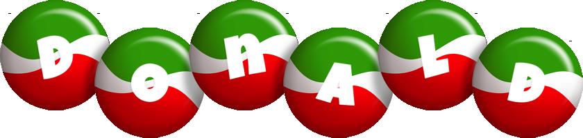 Donald italy logo